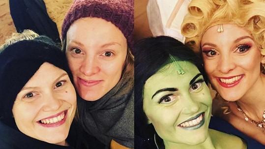 Krásky bez make-upu a pak v rolích: Práce maskérů v Čarodějce je opravdový zázrak