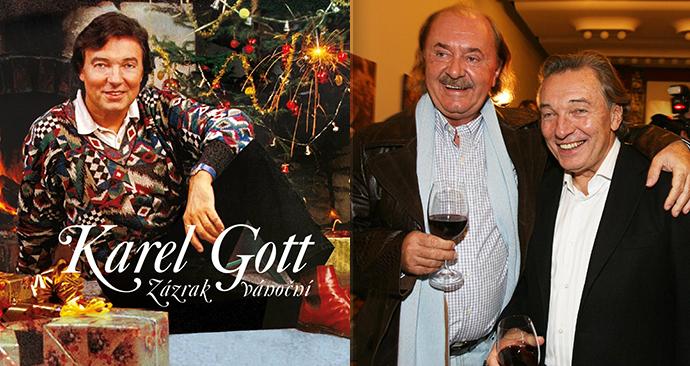 """Karel Gott je zpět v plné síle! Janeček vydal """"zapomenuté"""" vánoční album!"""