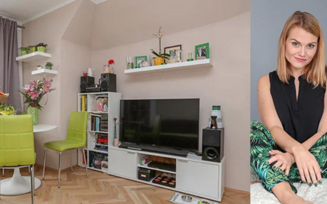 Jak bydlí muzikálová Čarodějka Ochmanová? Doma má všechno zelené!